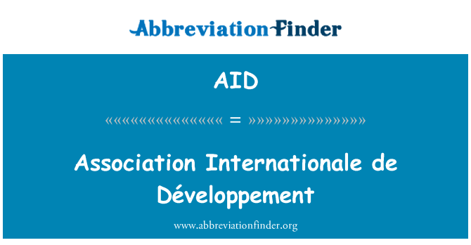 AID: Association Internationale de Développement