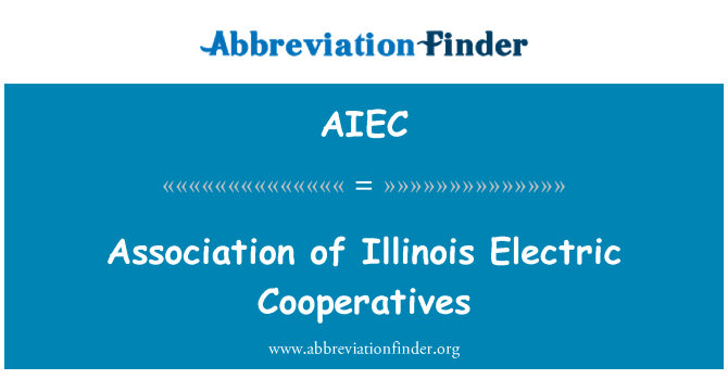 AIEC: Association of Illinois Electric Cooperatives