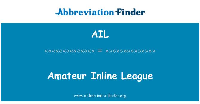 AIL: Amateur Inline League