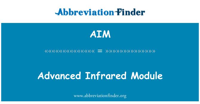 AIM: Advanced Infrared Module