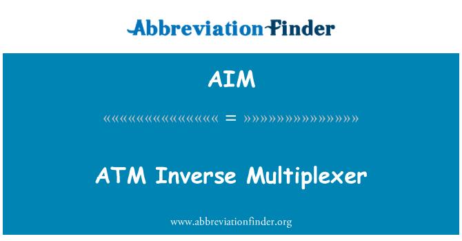 AIM: ATM Inverse Multiplexer