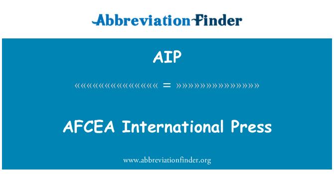 AIP: AFCEA International Press