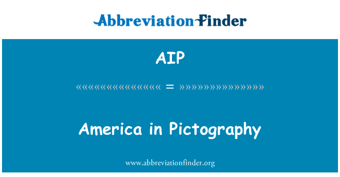 AIP: America in Pictography