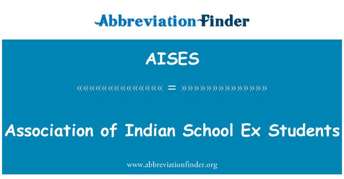 AISES: Asociación de Indian School Ex estudiantes