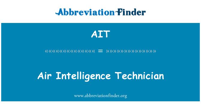 AIT: Air Intelligence Technician