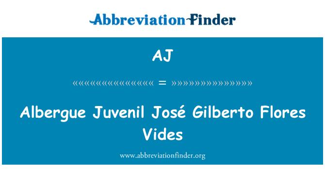 AJ: Albergue Juvenil José Gilberto Flores Vides