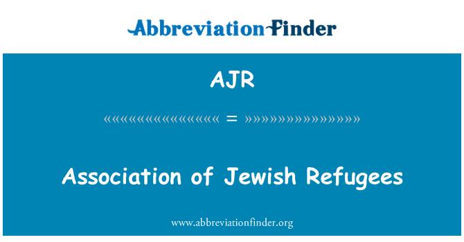 AJR: Association of Jewish Refugees