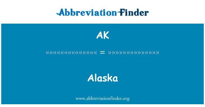 AK: Alaska