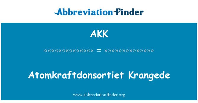 AKK: Atomkraftdonsortiet Krangede