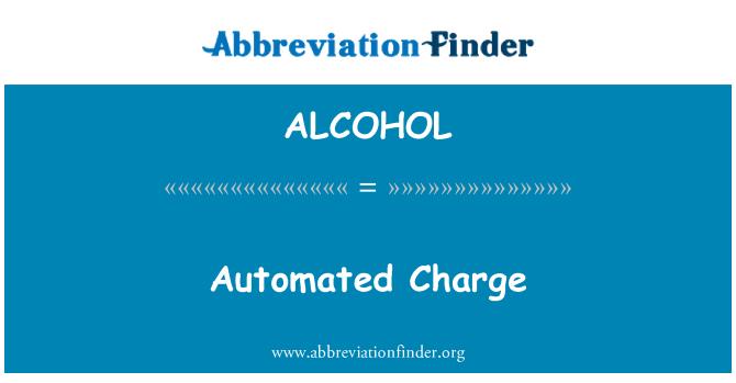 ALCOHOL: 自动的充电