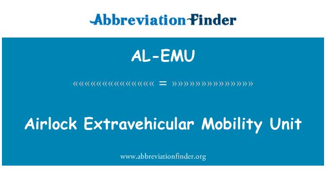 AL-EMU: Airlock Extravehicular Mobility Unit