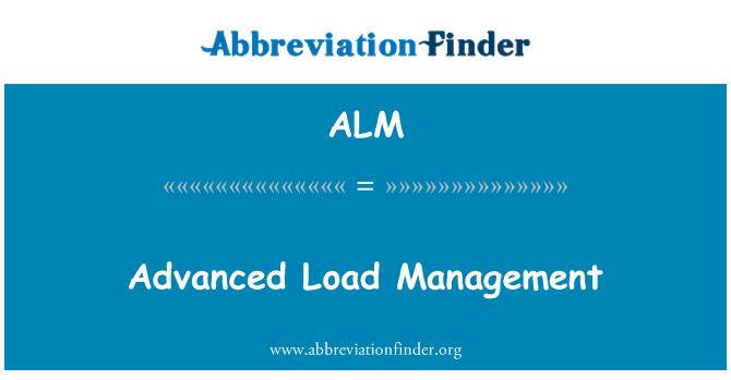 ALM: Advanced Load Management