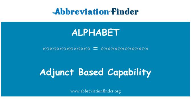 ALPHABET: Adjunto basado en la capacidad