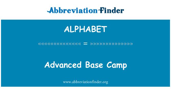 ALPHABET: Campo Base avanzado