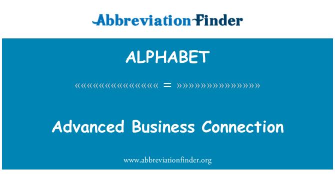 ALPHABET: Conexión avanzada del negocio