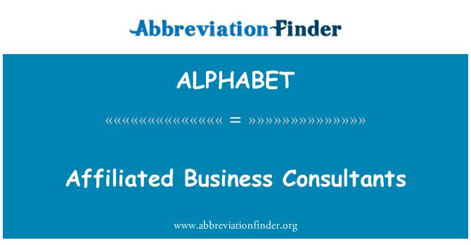 ALPHABET: Susijęs verslo konsultantai