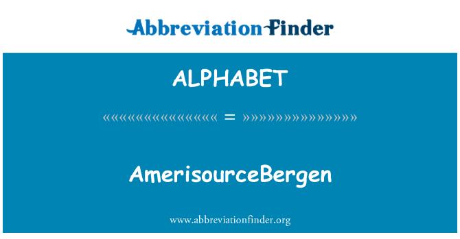 ALPHABET: AmerisourceBergen