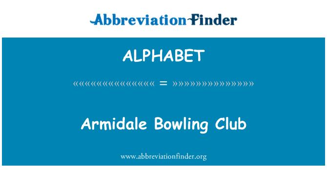 ALPHABET: Club de Bowling Armidale