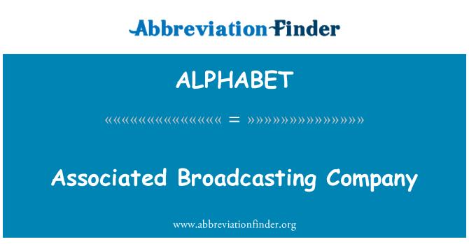 ALPHABET: Empresa asociada de difusión