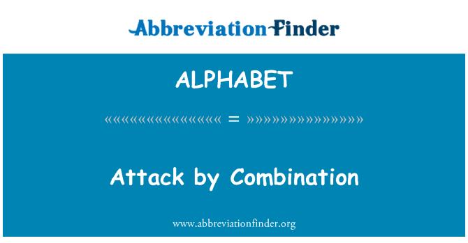 ALPHABET: Ataque de combinación