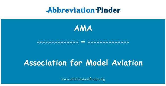 AMA: Association for Model Aviation