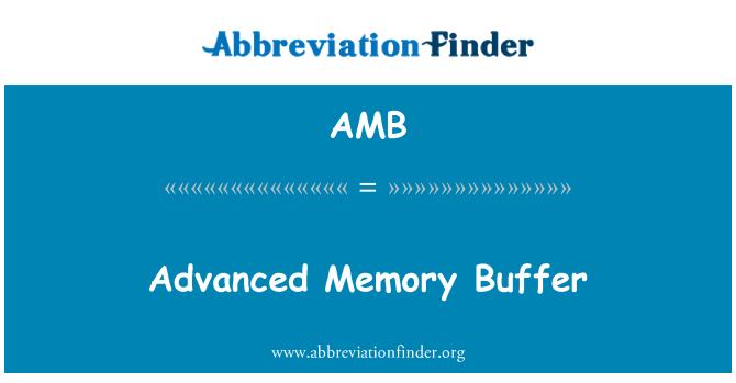 AMB: Advanced Memory Buffer