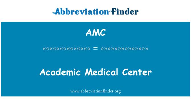 AMC: Academic Medical Center