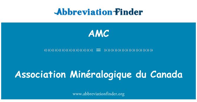 AMC: Association Minéralogique du Canada
