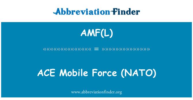 AMF(L): اککا موبائل فورس (نیٹو)