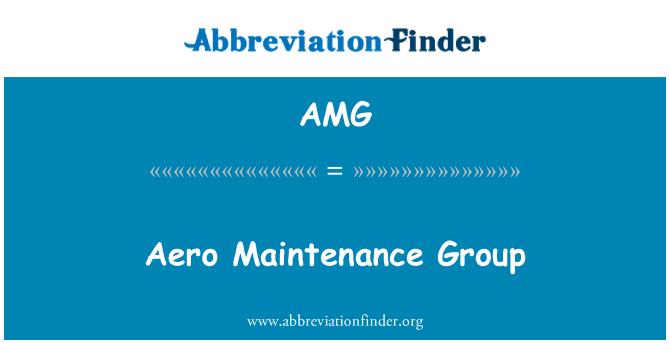 AMG: Aero Maintenance Group