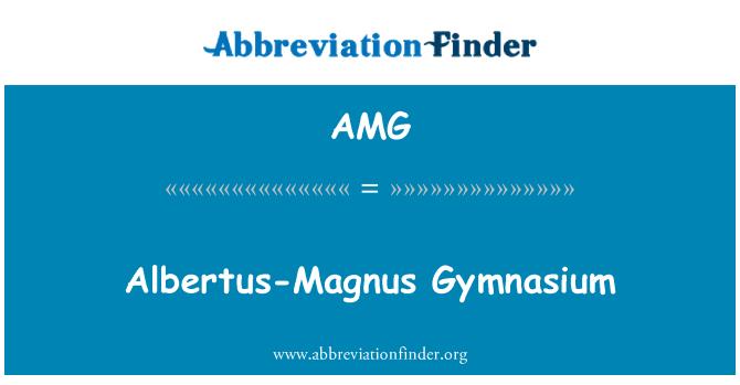 AMG: Albertus-Magnus Gymnasium