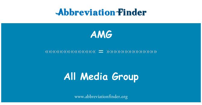 AMG: All Media Group