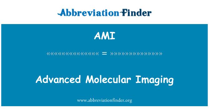 AMI: Advanced Molecular Imaging