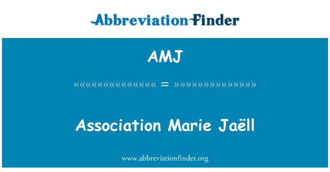 AMJ: Association Marie Jaëll
