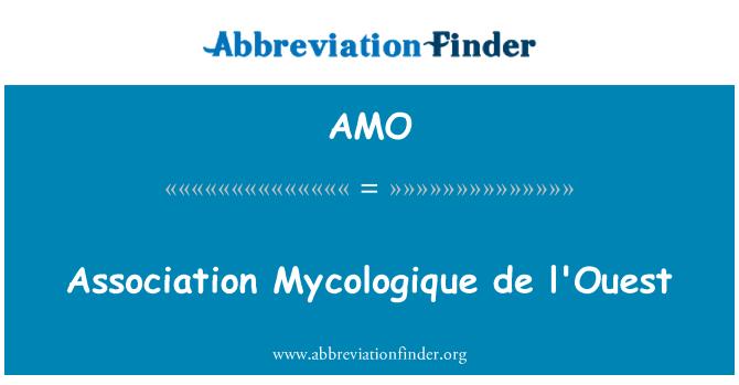 AMO: Association Mycologique de l'Ouest