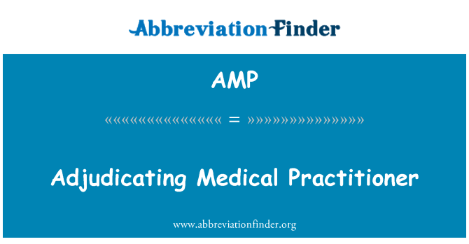 AMP: Adjudicating Medical Practitioner
