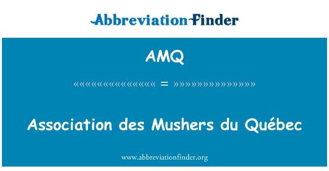 AMQ: Association des Mushers du Québec