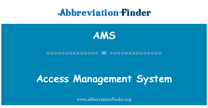 AMS: Access Management System