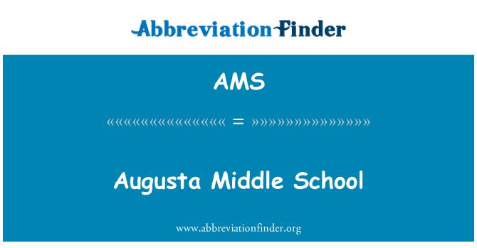 AMS: Augusta Middle School