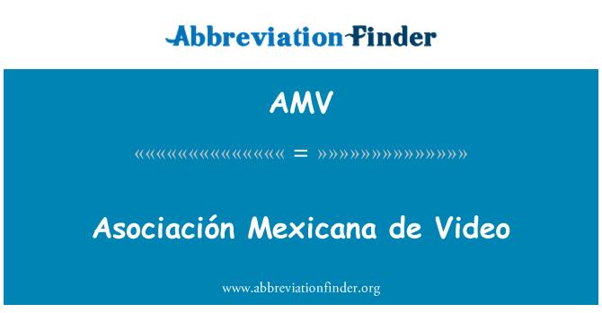 AMV: Asociación Mexicana de Video