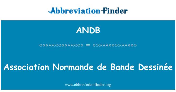 ANDB: Ühingu Normande de Bande Dessinée