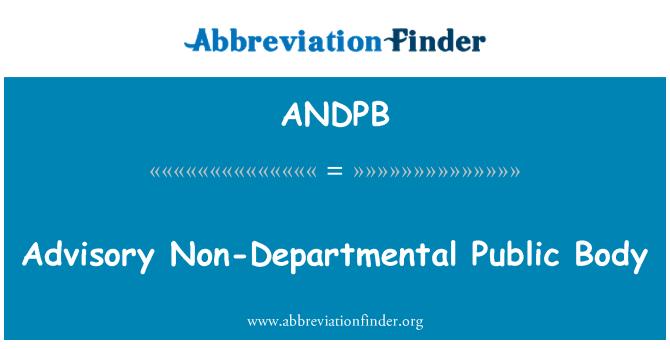 ANDPB: Osakondade avaliku nõuandev