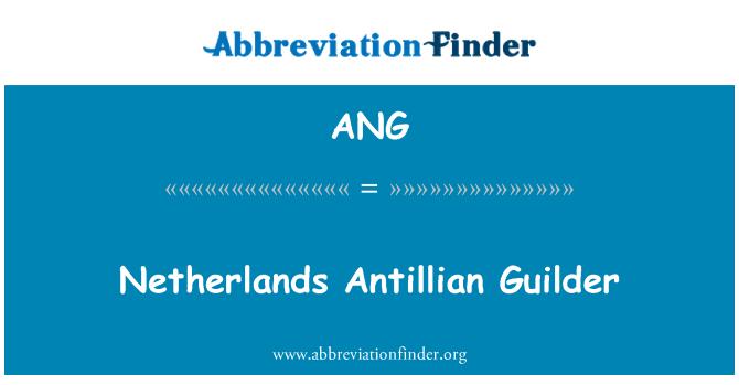 ANG: Netherlands Antillian Guilder