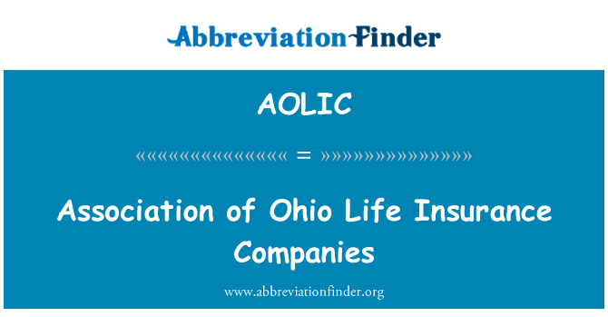 AOLIC: Association of Ohio Life Insurance Companies