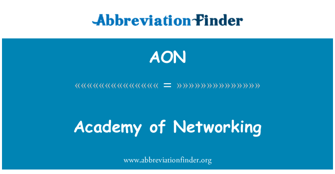 AON: Academy of Networking