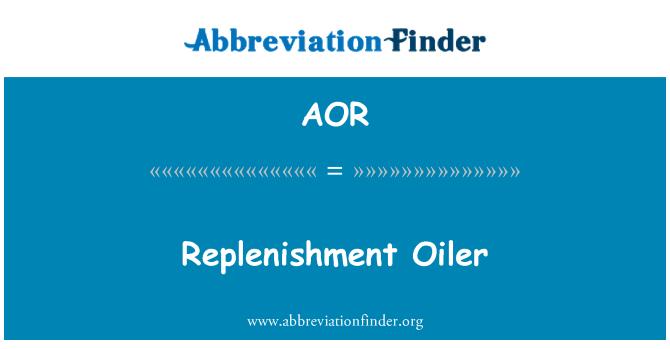 AOR: Replenishment Oiler