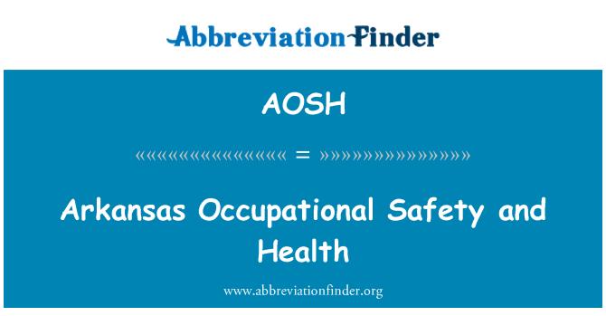 AOSH: Salud y seguridad ocupacional Arkansas