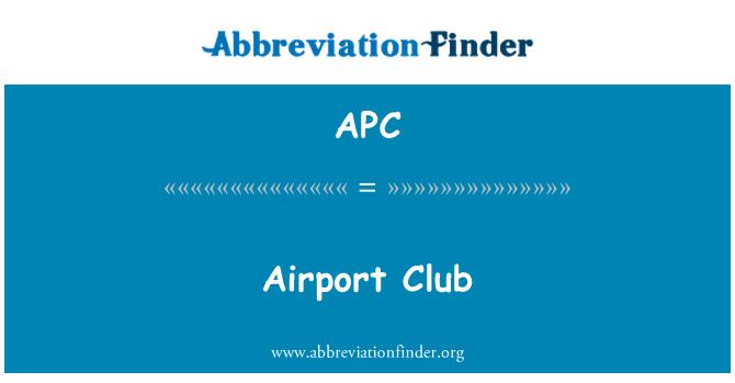 APC: Airport Club