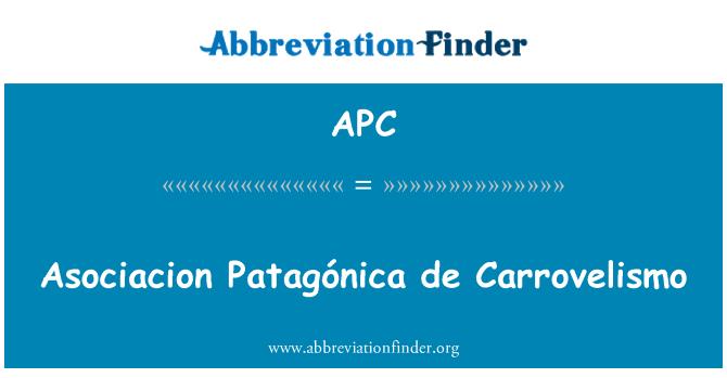 APC: Asociacion Patagónica de Carrovelismo