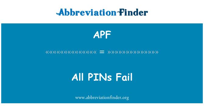 APF: All PINs Fail